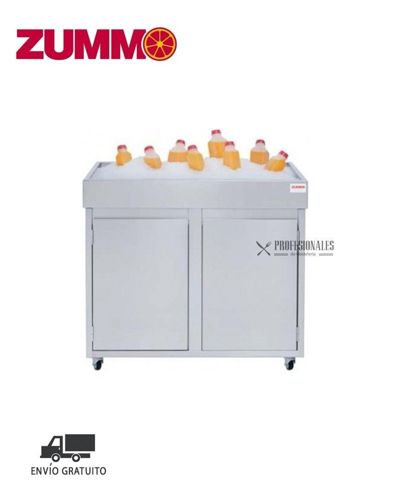 Mueble supermercado exprimidores zummo for Muebles para supermercado