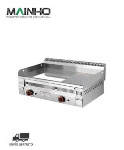 Fry-Top EUROCROM Semi-Ranurado Gas PCR-60 N Mainho