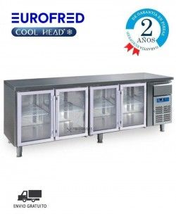 Bajomostrador SERIE GASTRONORM GN 4100TNG Cool Head Eurofred