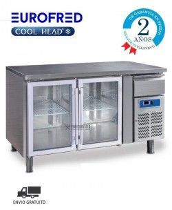 Bajomostrador SERIE GASTRONORM GN 2100 TNG Cool Head Eurofred