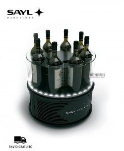 Botellero Refrigerado ALEGRIA ALL Sayl Luz LED