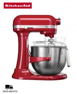 Mezcladora Uso Intensivo KitchenAid Heavy Duty Color Rojo 5KSM7591R