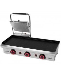 Plancha a Gas + Grill Sandwichera Adaptada ECO-90-PV SW-35 Mainho